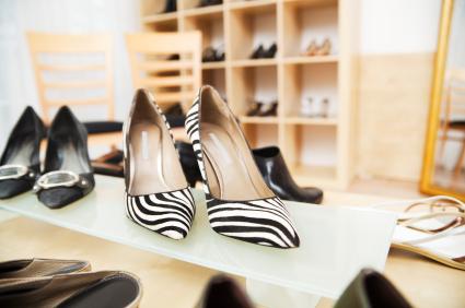 magasins de chaussures