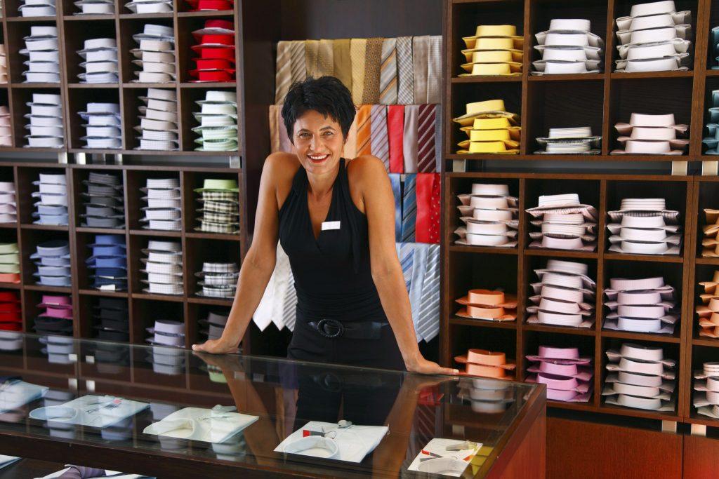 vente au détail de vêtements