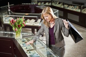 opérations de vente au détail de bijoux